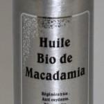 Huile de macadamia B comme Nature
