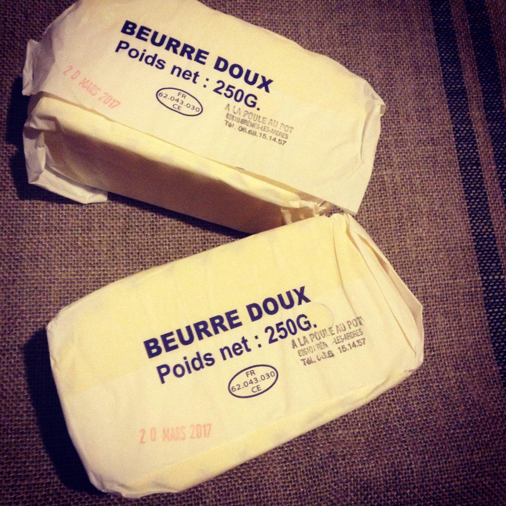 Beurre clarifié b comme nature